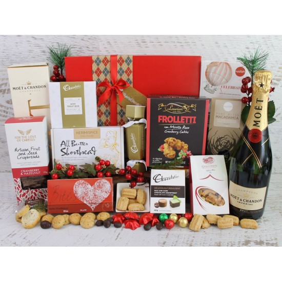Champagne Christmas Gift Hamper
