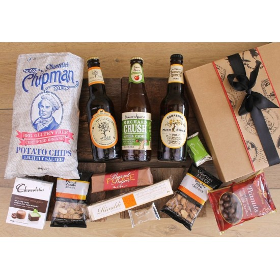 Cider & Snacks Gift Hamper
