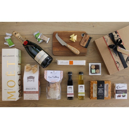 Moet and Gourmet Celebration Hamper