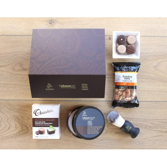Men's Shave Set and Nibbles